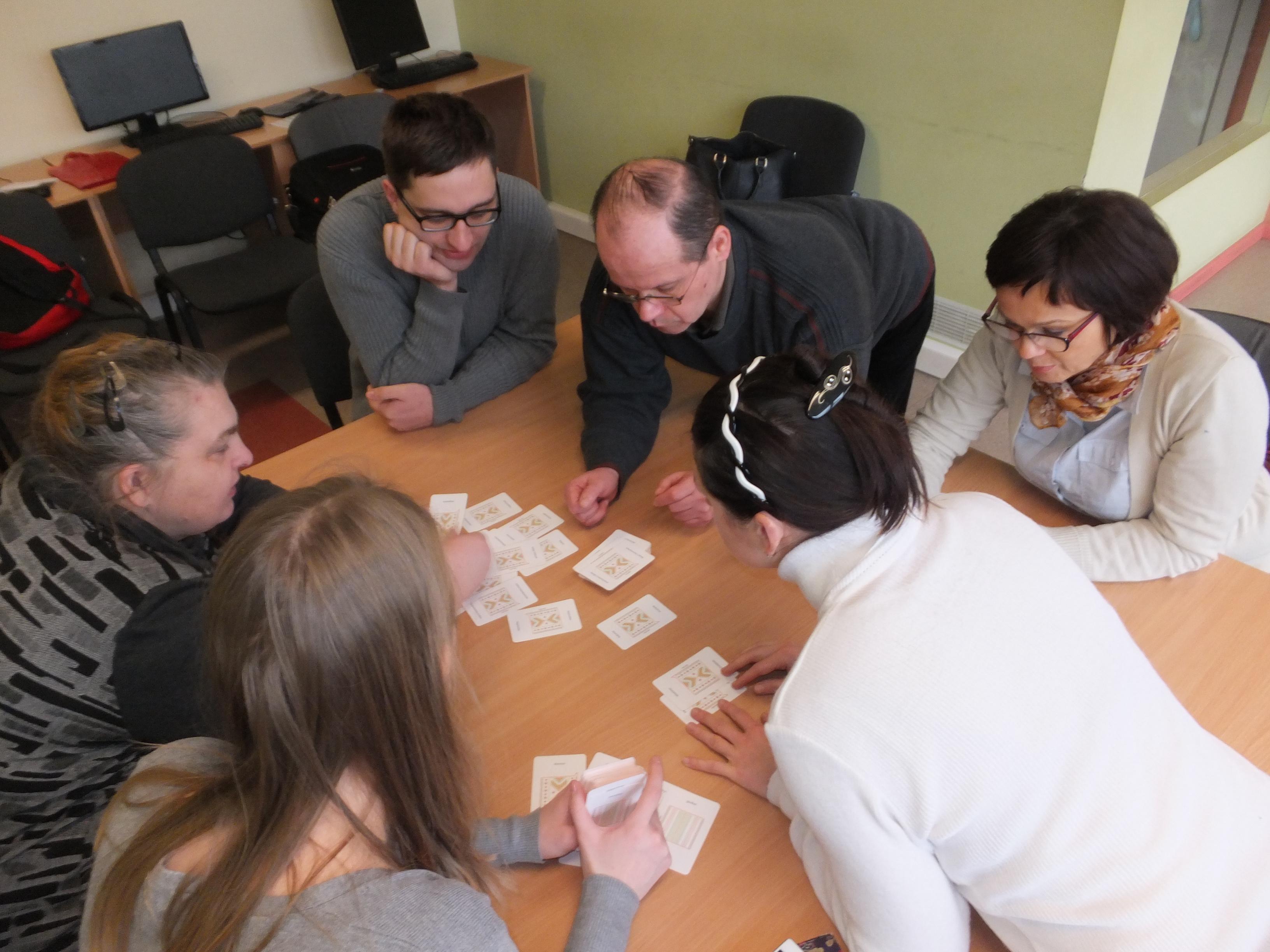 Eksperimentinis darbas su grupe