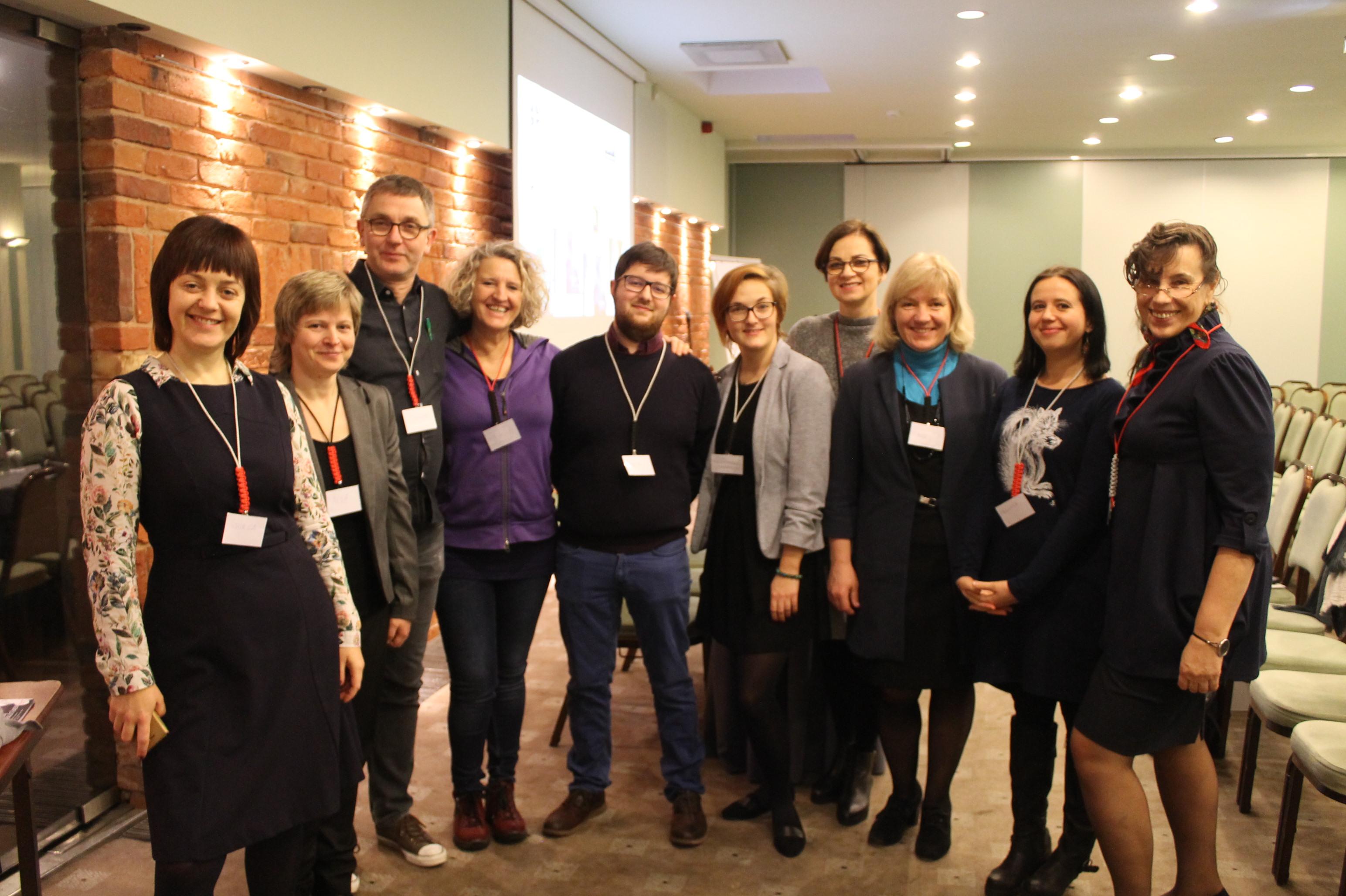 Tarptautinė projekto komanda