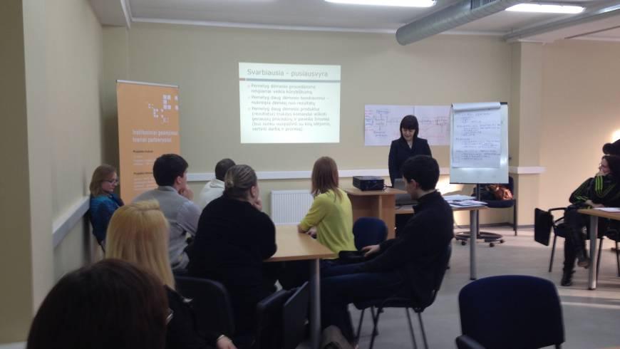 Instituciniai gebėjimai tvariai partnerystei