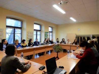 Nevyriausybines organizacijas vienijančių asociacijų institucinis stiprinimas